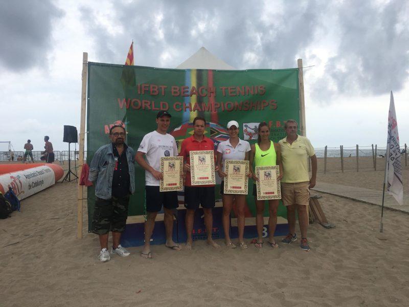Certyfikowani instruktorzy tenisa plażowego