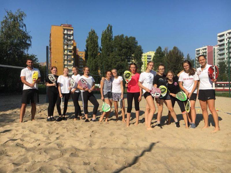 Tenis Plażowy na lekcjach w-f!