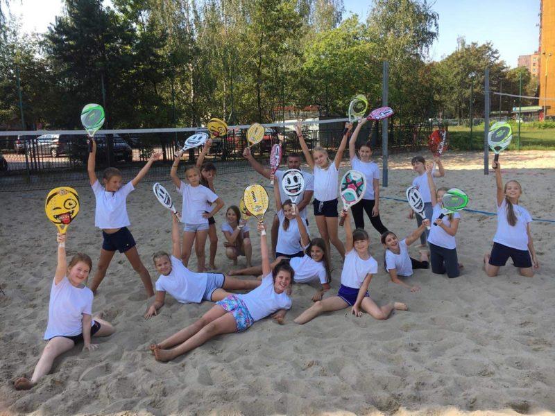 Warsztaty tenisa plażowego w Parku Zielona!