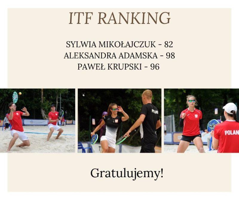 Polacy w TOP 100 Rankingu ITF