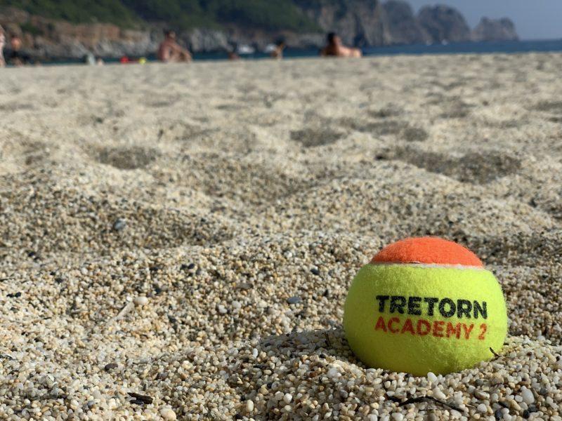 Krótki spot tenisa plażowego!
