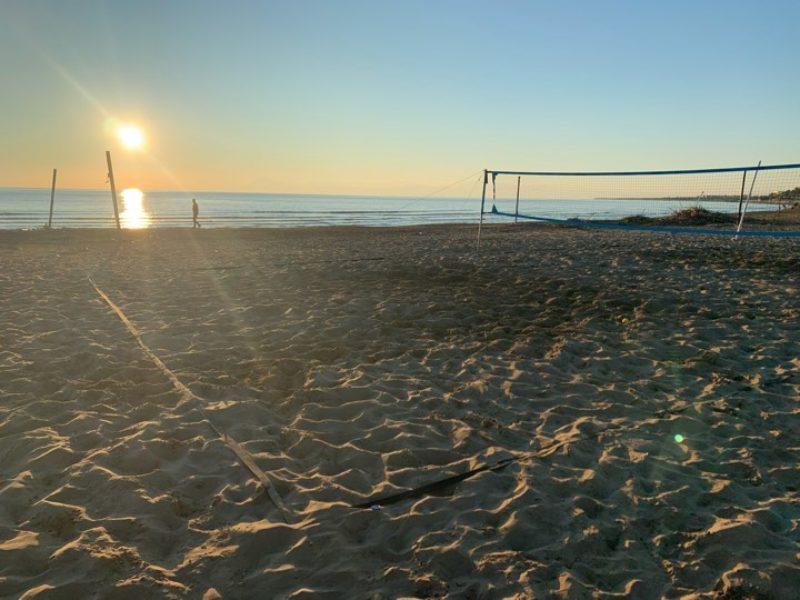 Obóz tenisa plażowego – sierpień 2020