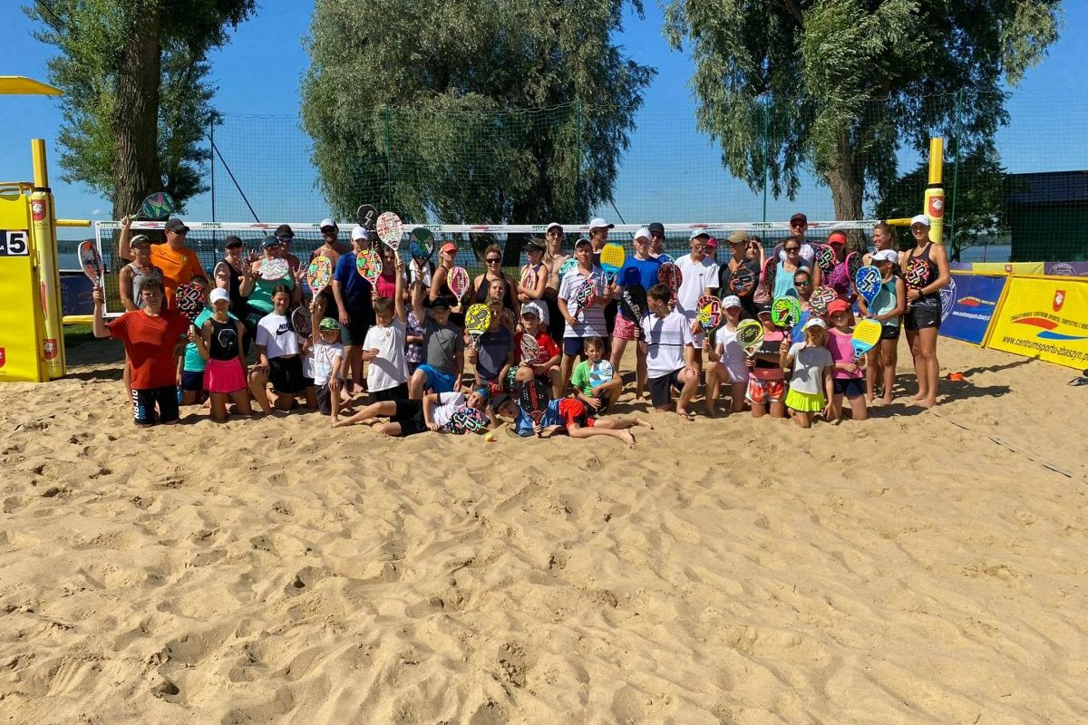 Obóz tenisa plażowego